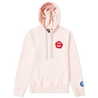 Aspesi Face Patch Popover Hoody Pink