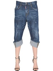 Dsquared Kawaii Washed Cotton Denim Jeans