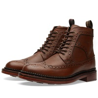Barbour Billingham Derby Boot Dark Tan