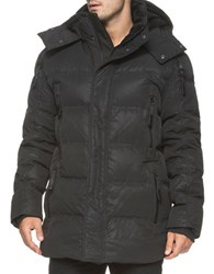 Andrew Marc New York Polar Down Filled Parka Black