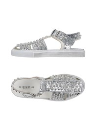 Gienchi Footwear Sandals Men Silver