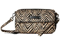 Vera Bradley All In One Crossbody For Iphone 6 Zebra Cross Body Handbags Animal Print