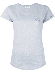 Maison Labiche Broken Heart T Shirt Grey