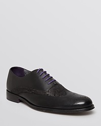 Robert Graham Magaw Wingtip Oxfords Black