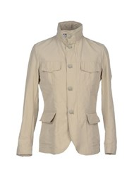 Aquarama Coats And Jackets Jackets Men Beige