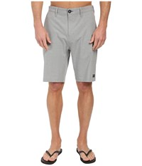 Billabong Crossfire X Hybrid Shorts Grey Men's Shorts Gray
