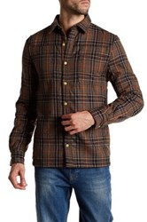 Threads For Thought Fleece Plaid Work Shirt Multi