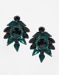 Coast Corine Earrings Blackgreen