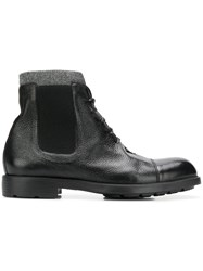 Moreschi Lace Up Ankle Boots Black