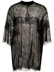 Vera Wang Oversized Sheer Lace T Shirt 60