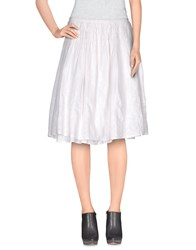 Noa Noa Skirts Knee Length Skirts Women White
