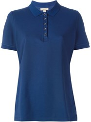 Burberry Brit Classic Polo Shirt Blue
