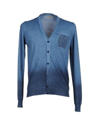 Brooksfield Cardigans Slate Blue