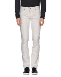 Only And Sons Denim Denim Trousers Men White