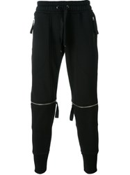 Blood Brother Detachable Cuff Track Pants Black