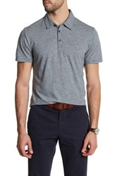 Zachary Prell Mission Short Sleeve Polo Blue