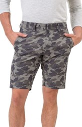 7 Diamonds Men's Hybrid Shorts Olive Camo
