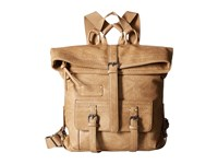 Sherpani Amelia Eco Leather Backpack Bags Khaki