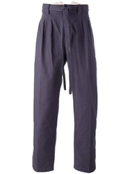 Visvim Belted Trousers Pink Purple