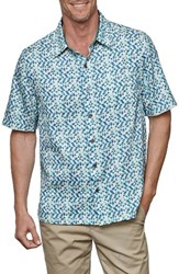 Nat Nast Men's El Capitol Silk And Cotton Camp Shirt