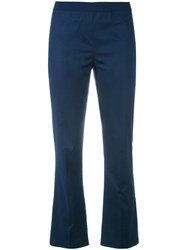 Twin Set Flared Trousers Blue
