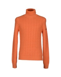 Cooperativa Pescatori Posillipo Turtlenecks Orange