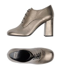 Gianna Meliani Footwear Lace Up Shoes Grey