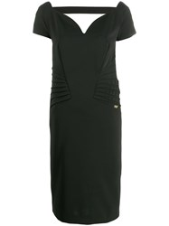 Class Roberto Cavalli Sweetheart Cocktail Dress Black