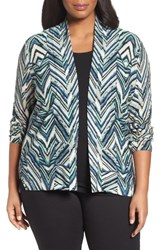Nic Zoe Plus Size Women's Illusion Cardigan