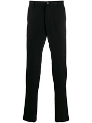 Christian Pellizzari Tapered Tailored Trousers Black