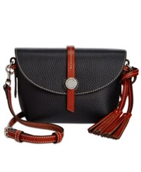 Dooney And Bourke Cambridge Crossbody Saddle Bag Black