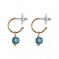 Mirabelle Recycled Glass Hoops