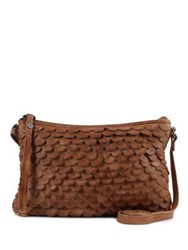 Day And Mood Jamie Leather Crossbody Bag Black