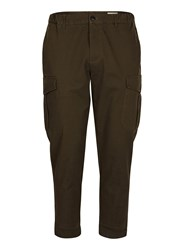Selected Green Homme Khaki Relaxed Fit Workwear Chinos