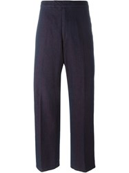 Al Duca Da Aosta 1902 Wide Leg Trousers Pink And Purple