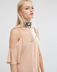 Her Curious Nature Gothic Choker Black