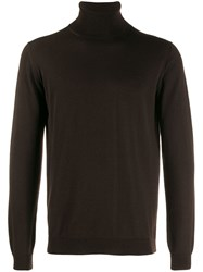 Nuur Turtleneck Jumper Brown
