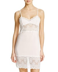 Hanky Panky Silky Luxe Chemise Crystal Pink Light Ivory