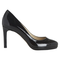 Hobbs Juliet Patent Court Shoes Black