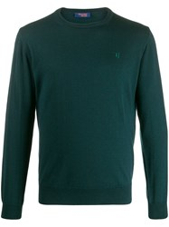 Trussardi Jeans Embroidered Logo Relaxed Fit Jumper 60