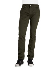 Joe's Jeans Slim Straight Green