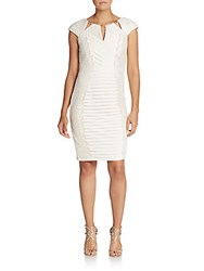 Jax Lace Bandage Dress Bright White