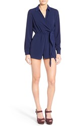 Women's Missguided Wrap Front Romper
