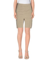 9.2 By Carlo Chionna Skirts Knee Length Skirts Women Sand