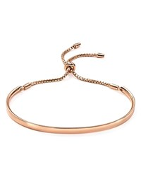 Argentovivo Argento Vivo Bar Bracelet Rose Gold
