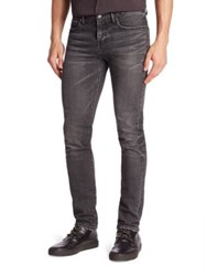 Blk Dnm Slim Tapered Jeans Bedford Grey