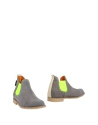 Neon Boots Ankle Boots Acid Green