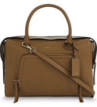 Dkny Chelsea Large Leather Satchel Copper