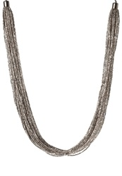 Vero Moda Vmbian Necklace Gun Gunmetal