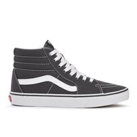 Vans Men's Sk8 Hi Canvas Hi Top Trainers Asphalt Grey